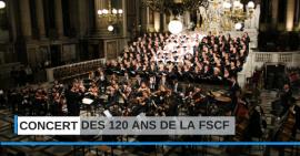 Carton plein pour le concert des 120 ans de la FSCF