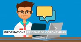 Epidémie de coronavirus – COVID-19