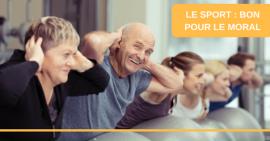 Info Sport-Santé : Le sport, c'est bon pour le moral et la longévité