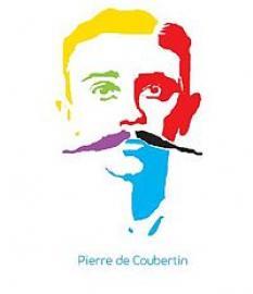 logo du comité français Pierre de Coubertin