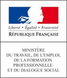 Logo Ministère du travail et de la formation professionnelle