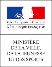 logo du ministère de la ville de la jeunesse et des sports
