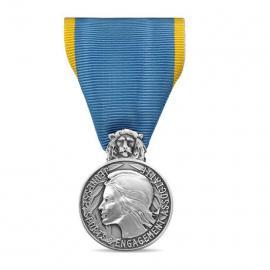 Médaille d'argent de la jeunesse des sports et de l'engagement associatif