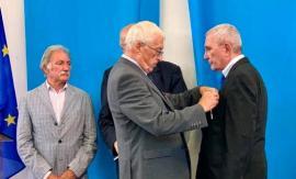 Pierre-Jean Badin décoré du Mérite National