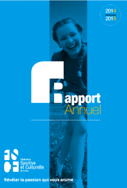 Rapport Annuel 2014 2015