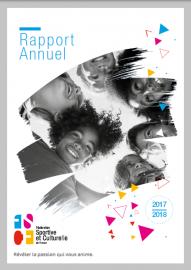 Rapport d'activité 2017/2018 : renouveau et pérrenité