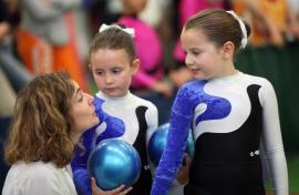 La gymnastique rythmique et sportive à la Fédération, résumé en image