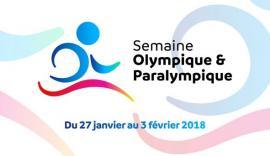 Semaine olympique & paralympique 2018