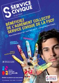 flyer service civique FSCF