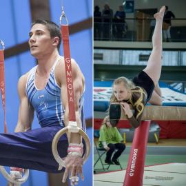 Les championnats nationaux mixtes de gymnastique FSCF