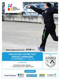 Vienne accueille les finales des coupes de boules lyonnaises