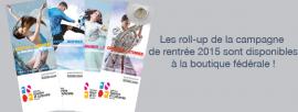 Roll-up campagne de rentrée 2015