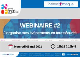 J-2 WEBINAIRE#2 : Associathèque – Mercredi 05 Mai 2021