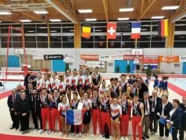 Pleins feux sur le tournoi international de gymnastique