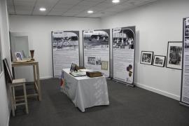 image de l'exposition relative à l'histoire de la FSCF