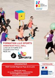 Formation Lilo Sports : Animateur Poull-Ball