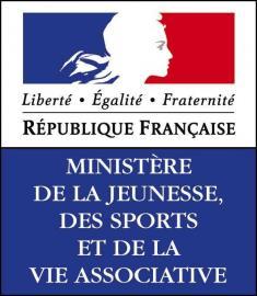 Logo Ministère de la jeunesse, des sports et de la vie associative