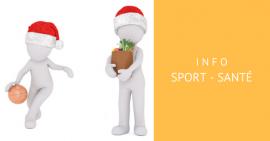 Mieux manger et faire du sport après les fêtes