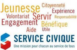 mur de mots dispositif du service civique