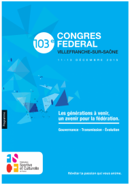 103eme congrès fédéral de la FSCF