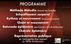 Programme MUSIQUE POUR TOUS 21 décembre 2019