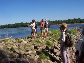Première étape de la rando itinérante en Pays de la Loire