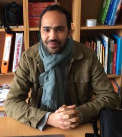 Mohamed, étudiant en deuxième année de Master SIFA