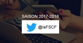 Saison Twitter FSCF