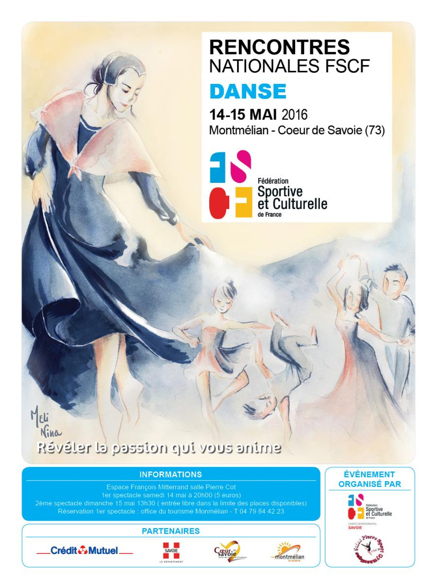 Rencontres nationales de danse 2018