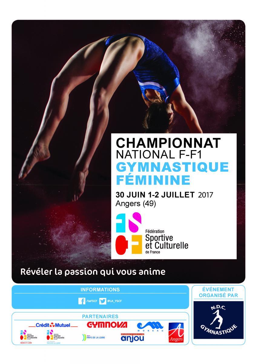 Championnat national par équipes de gymnastique féminine